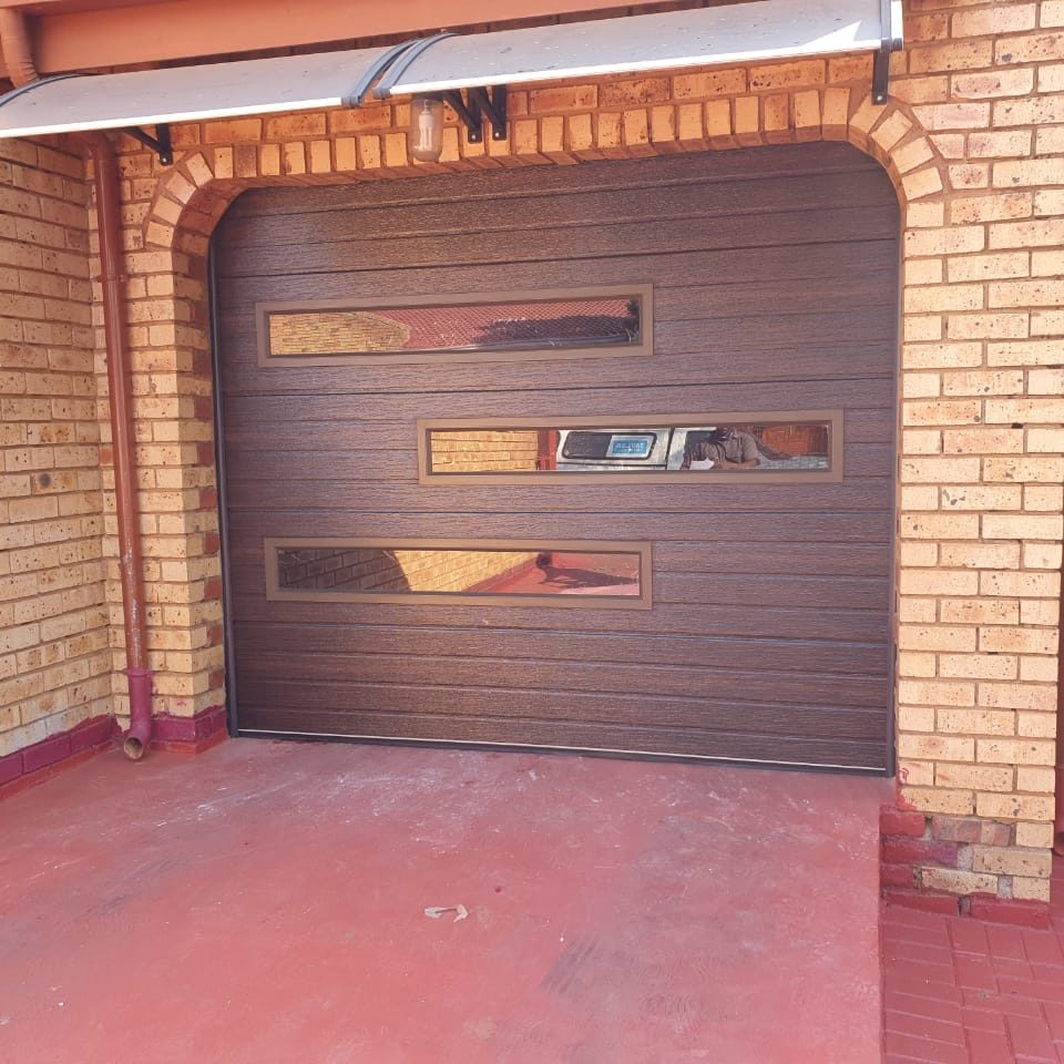 non insulated garage door